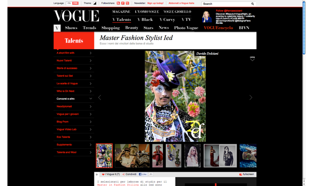 Vogue Award Photography